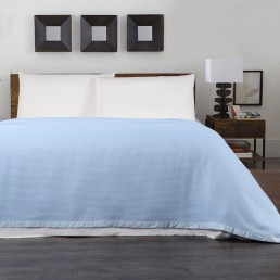 Super Soft Luxurious Bamboo Blanket - Sky Blue
