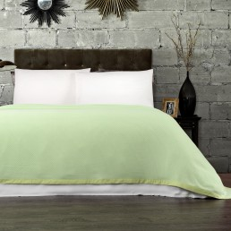 Super Soft Luxurious Bamboo Blanket - Mint Green