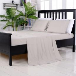 100% Organic Bamboo Sheet Set - Brown Dune