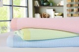 Super Soft Luxurious Bamboo Blanket - Pastel Pink