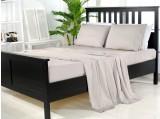 100% Organic Bamboo Sheet Set - Grey Sky
